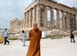 Maître Shi Heng Jun à Athènes