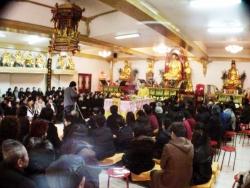 Conférence au Temple Fa Wa de Paris