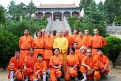 Disciples français au Temple Fa Wang