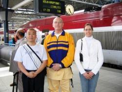 Maître Shi Heng Jun en Belgique