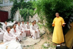 Leçon au Temple Fa Wang