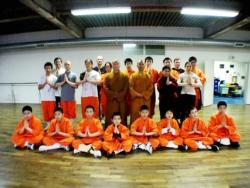 Stage avec les enfants chinois