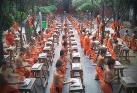 Entraînement au Temple Fa Wang