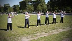 Champ de marsFrance Shaolin Club au Champ de Mars
