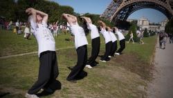 France Shaolin Club au Champ de Mars