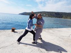 Stage en Grèce avec Maître Shi Heng Jun et Maître Miao Dian en avril 2017