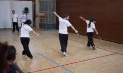 Démonstration d'épée (kung fu)