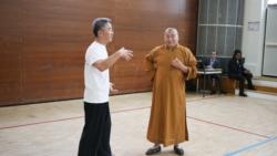 Démonstration de Qin Na (saisies) par Maître Shi Heng Jun