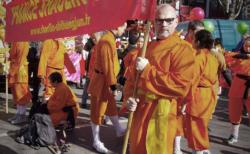 France Shaolin Club au défilé du nouvel an chinois à Paris