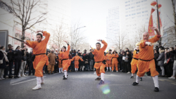 "Kung Fu externe à l'épée ""Damo Jian"""