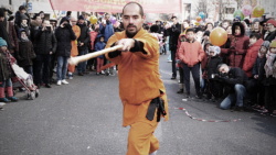 "Kung Fu externe au bâton ""Yin Shou Gun"""
