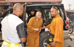 Maître Shi Heng Jun en Inde