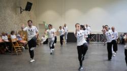 Démonstration du cours de Kung Fu externe par les élèves