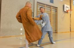 Stage de Kung Fu à Vevey, en Suisse, avec Maître Shi Heng Jun