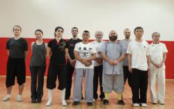 """Stage de Kung Fu Shaolin """"Jin Gang Xiao Pao Chui"""" avec Maître Shi Miao Dian"""